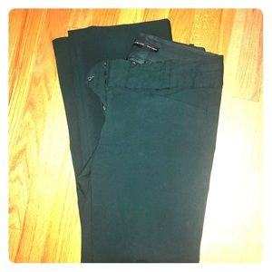The Limited Exact Stretch pants, green, sz 8